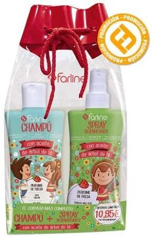 Farline - pack champú + spray desenredante