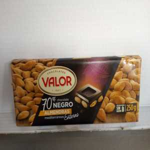 Valor - Chocolate Valor Puro 70% con Almendras