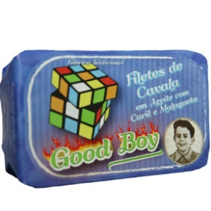 Good Boy - Filetes de Caballa en aceite de oliva con curry y cayena