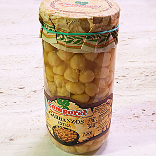 Camporel - Garbanzos al natural extra, 730 gr.