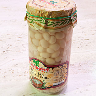 Camporel - Pochas al natural extra, 720 gr.